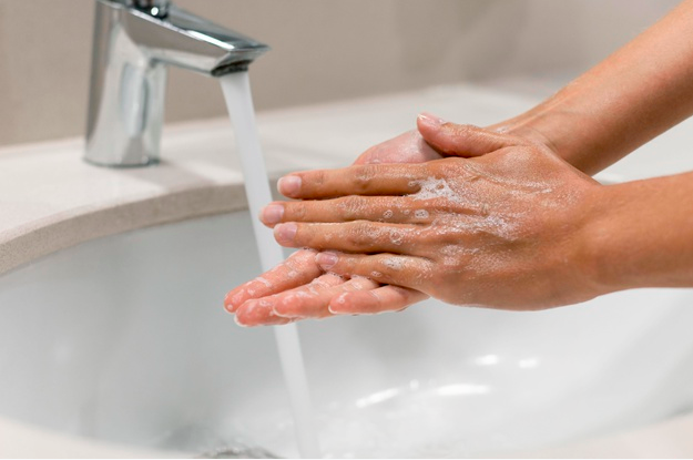 Higiene das mãos – Importância de lavar as mãos!