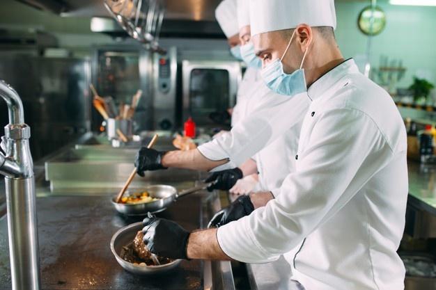 Cozinha segura: Medidas de prevenção COVID-19